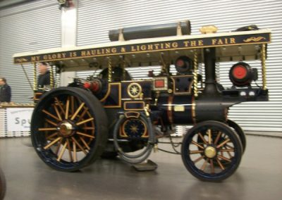Burrell Showman Road Locomotive