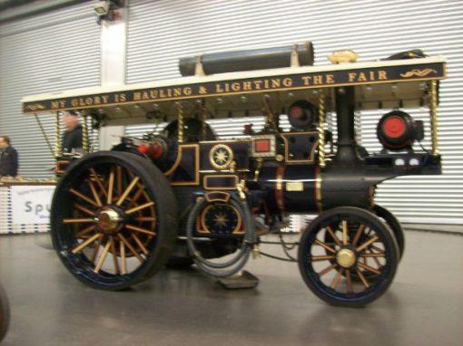 Burrell Showman Road Locomotive