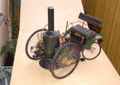 Dampfautomobil v. De Dion&Bouton (F) 3
