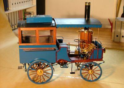 Dampf-Omnibus von Scotte (Frankreich)