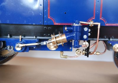 Dampfzugmaschine, Detail Speisepumpe