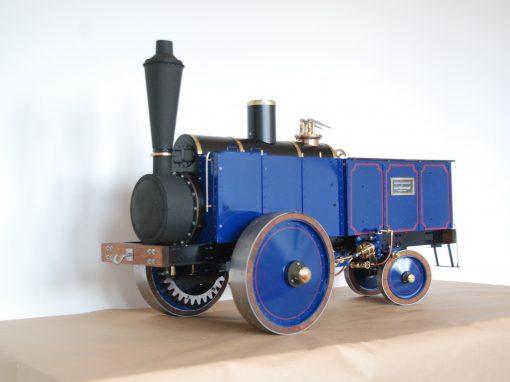 Dampfzugmaschine von Schwartzkopff