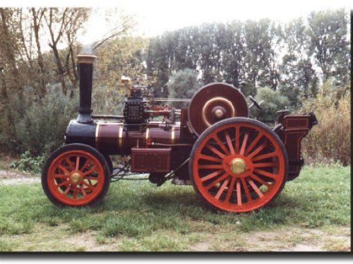 Burrell Road Locomotive 8 NHP